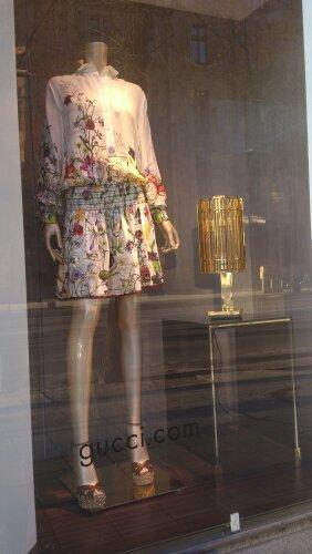 klänning blommor