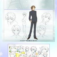 The Disappearance of Nagato Yuki Chan character sketches