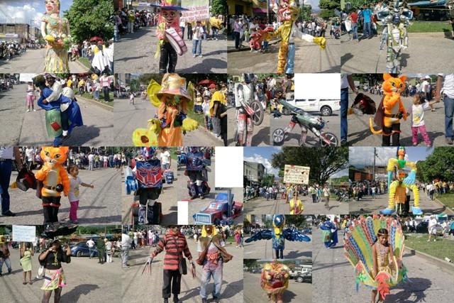 Disfraces en el Carnaval de Mocoa – 6 de Enero de 2012