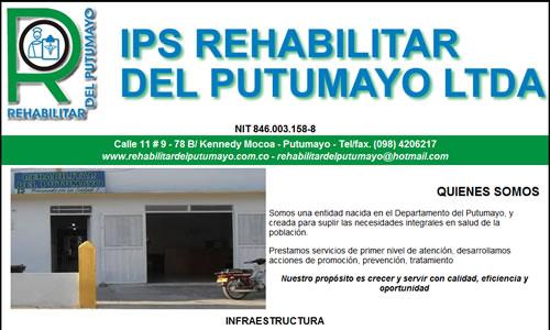 IPS Rehabilitar del Putumayo s.a.s