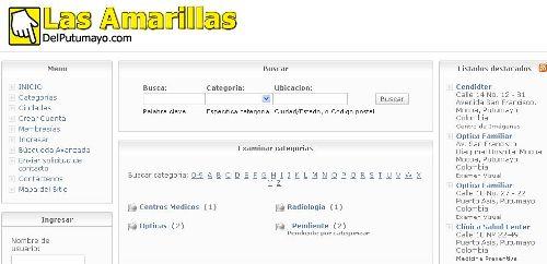 Directorio Las Amarillas DelPutumayo.com – Publicación GRATIS!