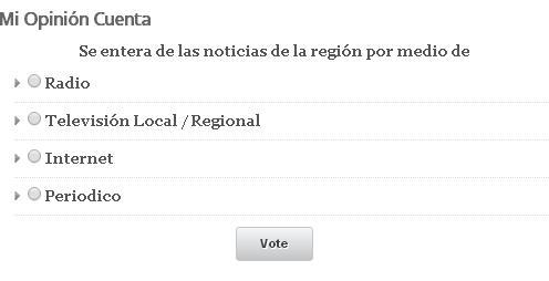 Mi Opinión Cuenta – Cómo se entera de las noticias de la región?
