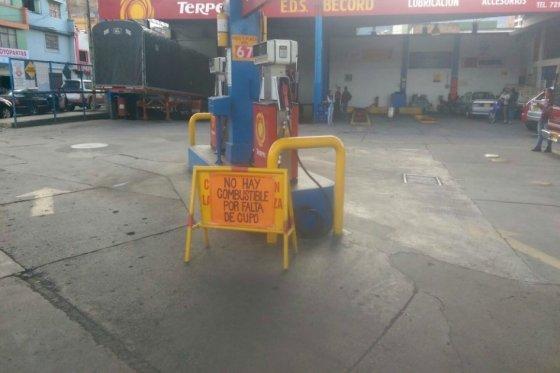 Fendipetróleo alerta sobre desabastecimiento de combustibles en cuatro departamentos