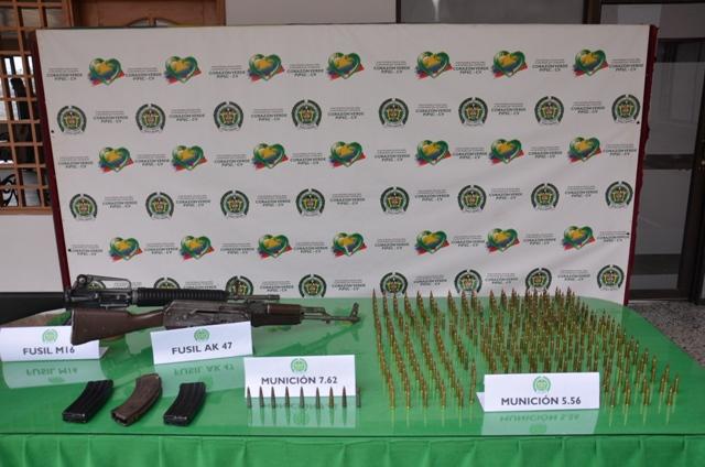 Capturados con fusiles dos presuntos atracadores en la vía Mocoa – Villagarzón