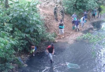 Ecopetrol apoya labores de recuperación de la quebrada El Sábalo, en Orito