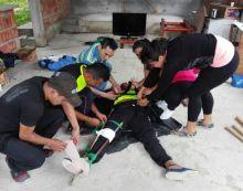 Taller Primeros Auxilios Básico para Monitores de Hábitos y Estilos Saludables del Putumayo