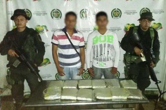 Golpe al tráfico de estupefacientes en la frontera Colombo-Ecuatoriana