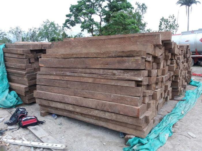 Decomisan 510 bloques de cedro rosado en Pitalito, Huila