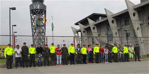 Doce capturados por minería ilegal en Putumayo