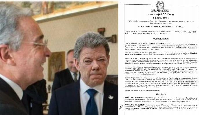 En Colombia Sí Se Puede Revocar Al Presidente, Registraduría Aprobó Recolección De Firmas Para Referendo Revocatorio De Santos