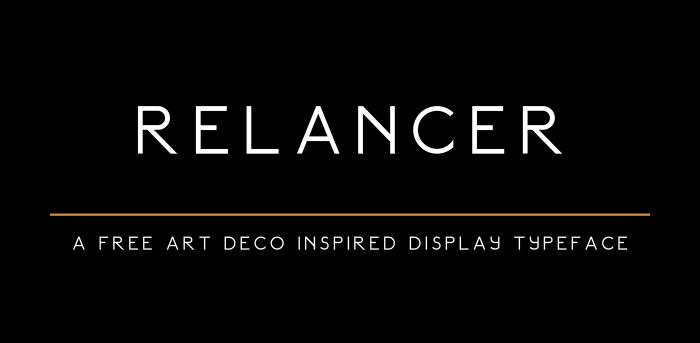 Relancer Font Download