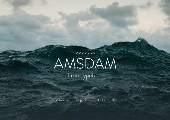Amsdam Regular Font Download