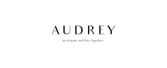 Audrey Font Download