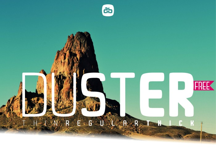 Duster Font Download