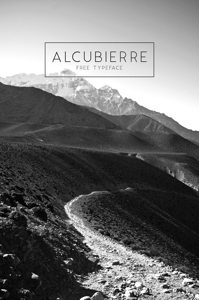 Alcubierre Font Download