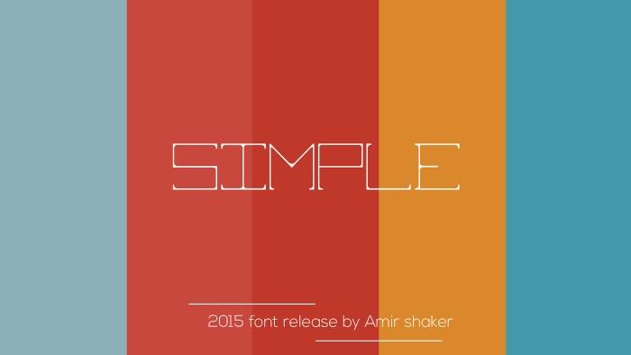Simple Font Download