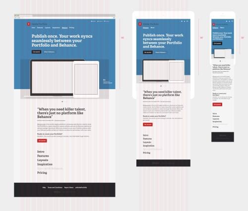 Medium Of Adobe Portfolio Examples