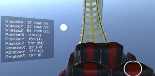 Energy Roller Coaster : simulation physique en réalité virtuelle immersive