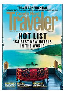 Conde Nast Traveller 2013