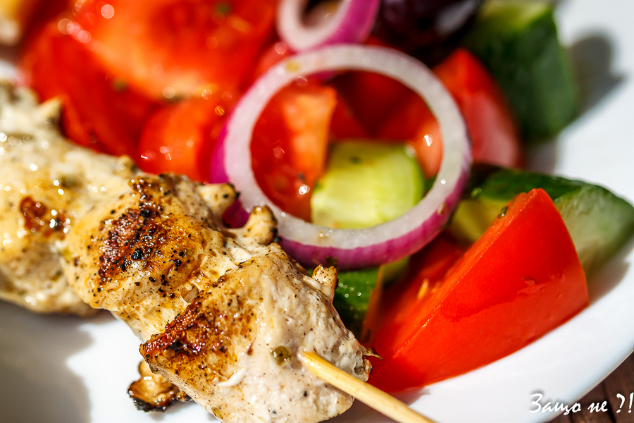 Сувлаки с пилешко месо