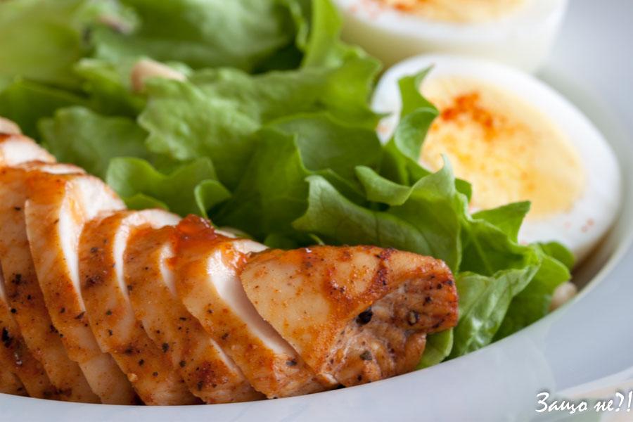 Пилешки гърди със сладко от люти чушки