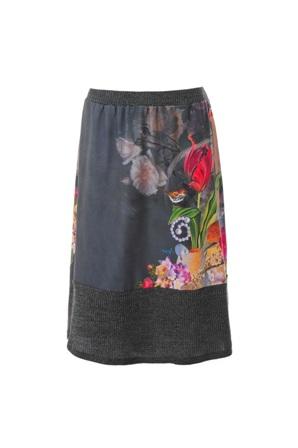 REUMA חצאית פרחונית קולקציית גלריה 299 שח צילום עומר מסינגר