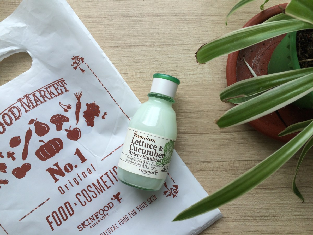 Another Skinfood Obsession: Premium Lettuce & Cucumber Watery Emulsion