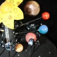 Maqueta del sistema solar. Proyecto para primaria
