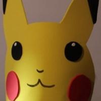 Cómo hacer máscaras de Pikachu en goma-eva  con plantilla para imprimir