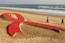 061213-global-Sand-Sculptures-of-Sudarshan-Pattnaik-world-aids-day