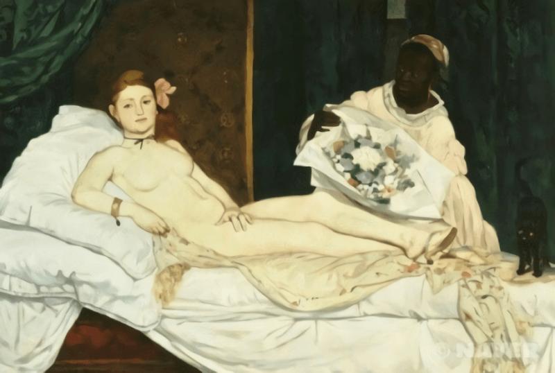에두아르 마네 '올랭피아' 1865
