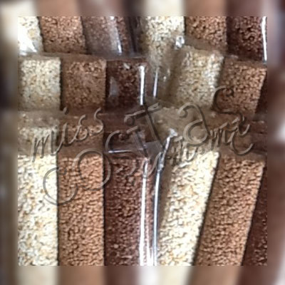 Barritas de 3 chocolates