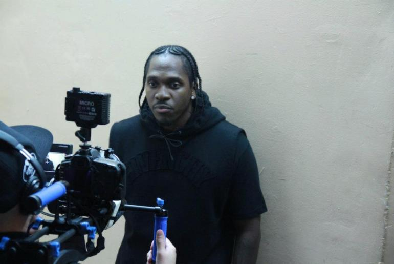 pusha t good music photoshoot 1