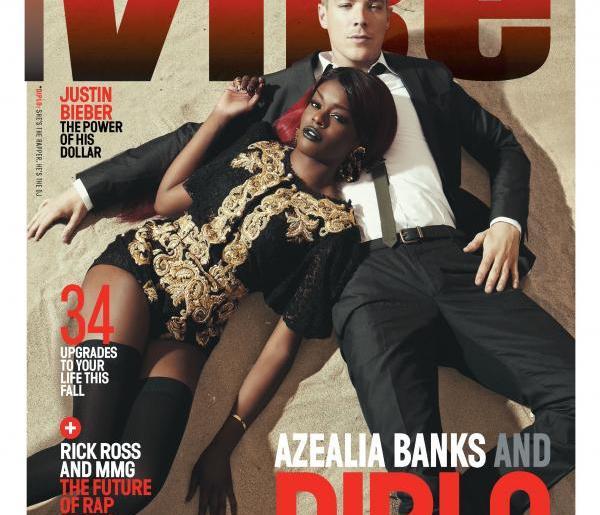 azealia banks diplo vibe magazine cover