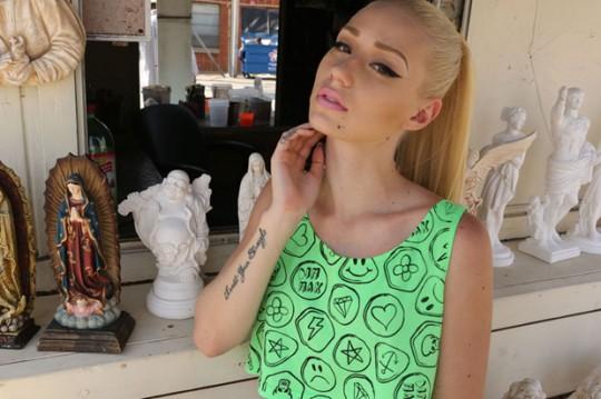 Iggy Azalea x Dim Mak Lookbook 2