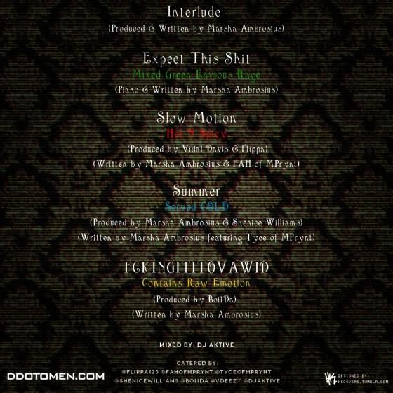 marsha ambrosius tracklist
