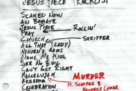 the game jesus piece tracklist