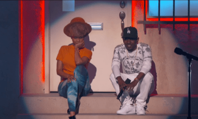 kendrick lamar and erykah badu bet awards