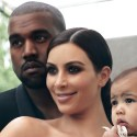 kanye west kim kardashian baby north vogue