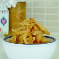 Korean pickled onions
