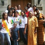 A visit at the Guinean Embassy in Washington DC