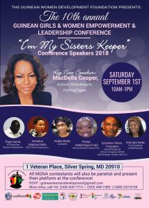 Saturday September 1st, join us at out 10th annual leadership conference at the Civic Building, downtown Silver Spring