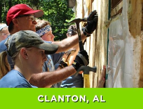 Clanton, AL – July 17-23, 2016