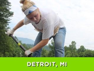 Detroit, MI – July 24-30, 2016