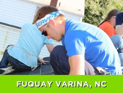 Fuquay Varina, NC – July 9-16, 2016