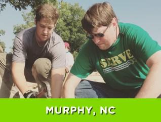 Murphy, NC – July 24-30, 2016