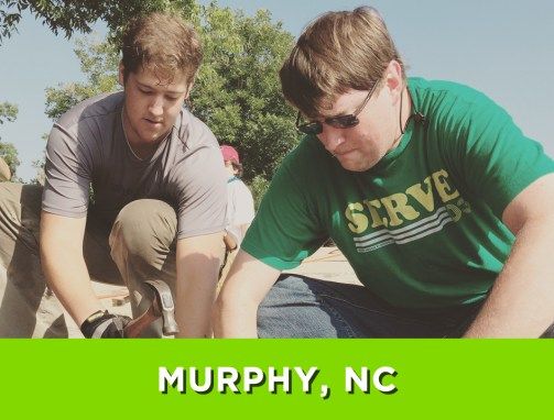 Murphy-Robbinsville, NC – July 24-30, 2016