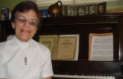 Shirley Marshall has taugh piano at the Community Music Center on Capp St. for 60 years.
