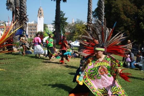 Danza Azteca.