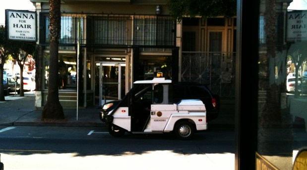 Meter maids were out en force on Labor Day. Photo courtesy of Robert Howard.